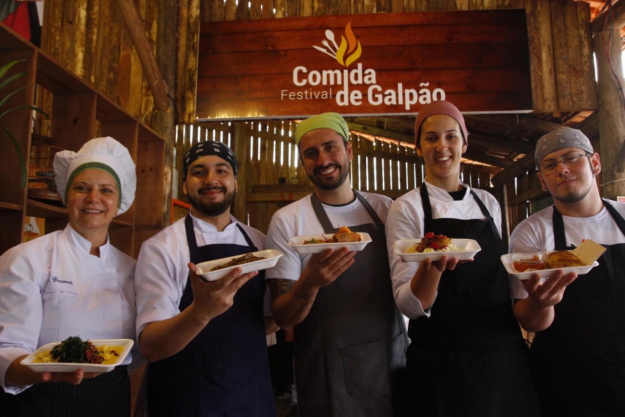 Treze cozinheiros difundem a culinária gaúcha na perspectiva da alta gastronomia.(Foto: Ricardo Giusti/PMPA)