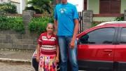 Rodrigo atualmente mora com a avó. (Foto: Reprodução)