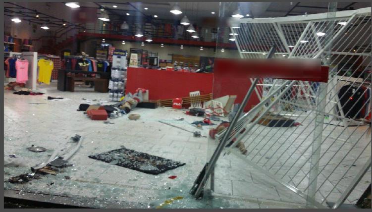Estabelecimento arrombado em Ivoti. ( Foto: Polícia Civil/Divulgação)