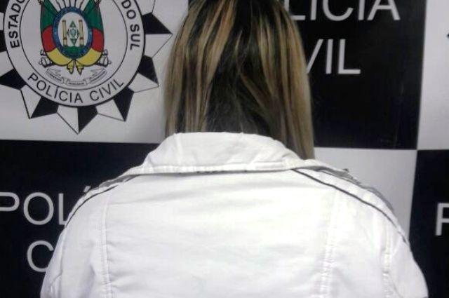 Mulher é oriunda do Rio de Janeiro (Foto: Polícia Civil/Divulgação)