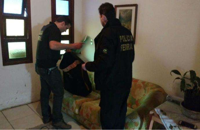 Os presos serão indiciados pelos crimes de estelionato e organização criminosa (Foto: Polícia Federal/Divulgação)