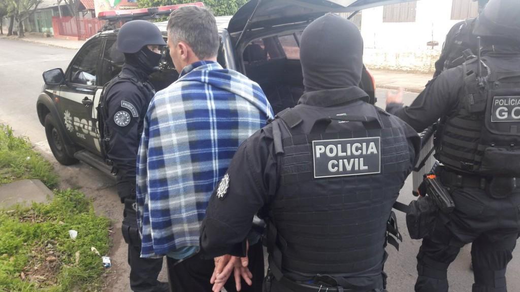 Ação ocorreu em São Leopoldo (Foto: Polícia Civil/Divulgação)