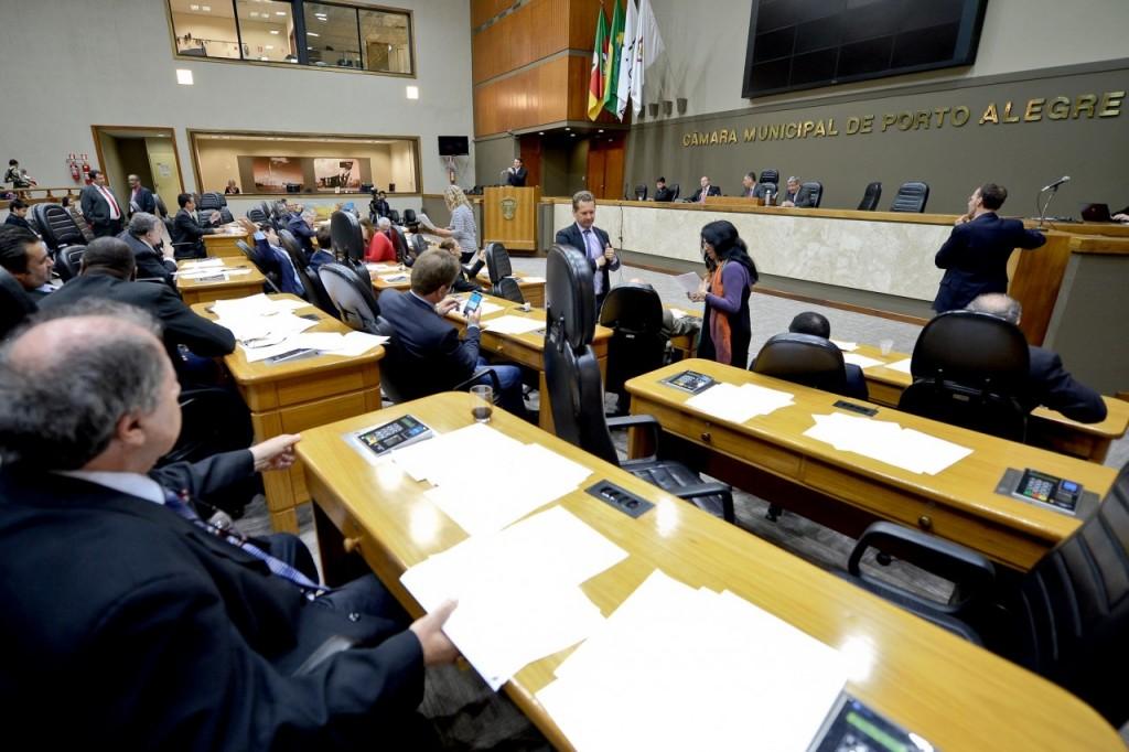Votação dos salários ocorreu na tarde desta quinta-feira. (Foto: Guilherme Almeida/CMPA)