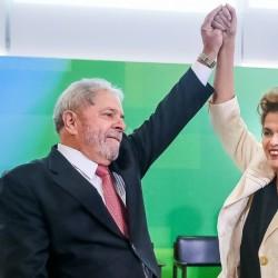 Os ex-presidentes Lula e Dilma Rousseff. (Foto: Reprodução)