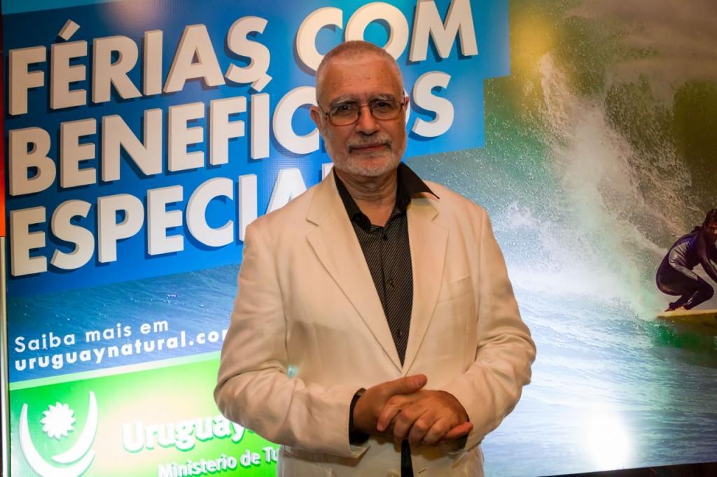 Benjamim Liberoz, vice-ministro de Turismo do Uruguai, anfitrião do evento. Fotos: Pedro Antonio Heinrich.