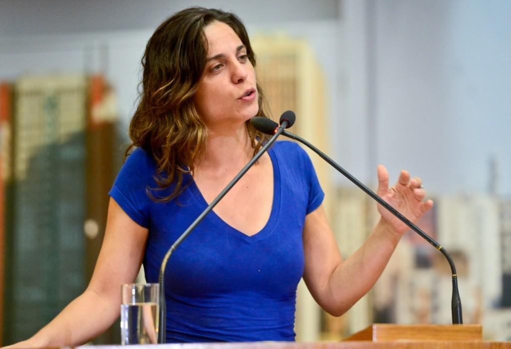 Fernanda Melchionna (PSOL) foi a vereadora mais votada de Porto Alegre (foto: reprodução)
