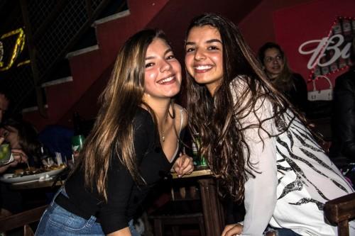 As irmãs Giorgia e Isadora Azevedo Canto. (Foto: Jackson Ciceri/O Sul)