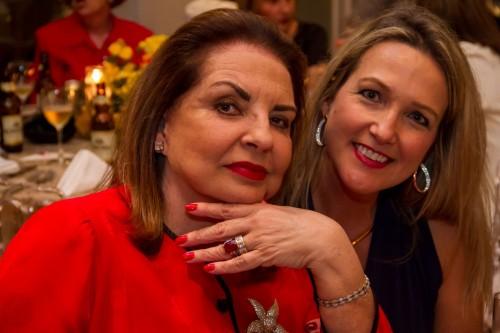 Suzana Chaves Barcellos e Carla Becker Andrade. (Foto: Pedro Antonio Heinrich/especial)