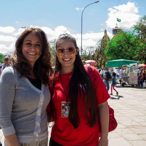 Antonela Vieira e Julia Desimon. (Foto: Pedro Antonio Heinrich/especial)