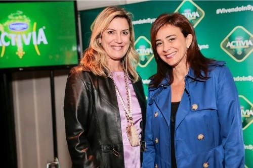 Aline Moura e Nailê Santos. (Foto: Vini Dalla Rosa/divulgação)