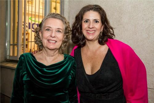 Hanni Lore Krey e Alexandra Beylouni. (Foto: Pedro Antonio Heinrich/especial)