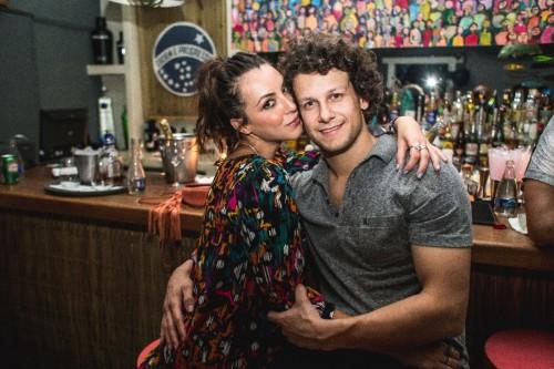 Belo casal: Priscila Guedes e Rafael Milan. (Foto: Ellem Cardoso/divulgação)