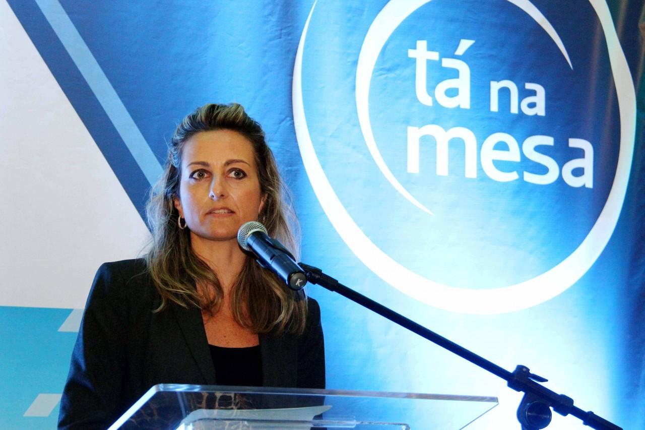 Na foto, a presidente da Federasul, Simone Leite. Foto: Jackson Ciceri / O Sul