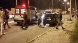 Vítima estava em um carro com as crianças (Foto: BM/Divulgação)