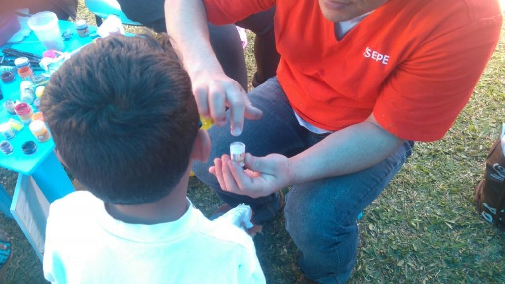 Crianças participaram de diversas brincadeiras (Foto: Divulgação)
