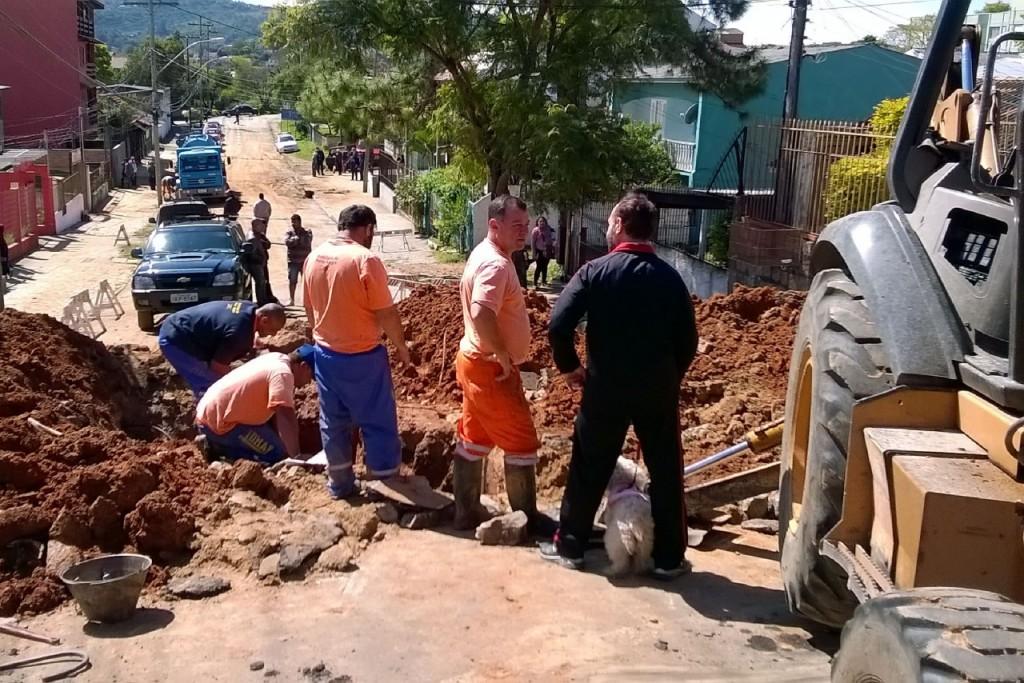 Interrupção no abastecimento afetará partes dos bairros Tristeza e Camaquã (Foto:  Divulgação/PMPA)