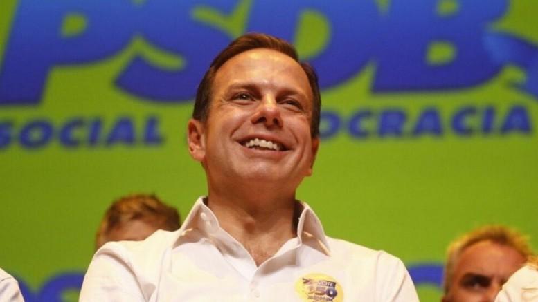João Doria (PSDB), que venceu no primeiro turno na capital paulista, está em terceiro lugar no ranking. (Foto: Reprodução)
