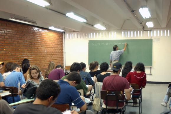 Para os alunos com frequência igual ou superior a 75%, a rematrícula é automática (Foto: ABr)