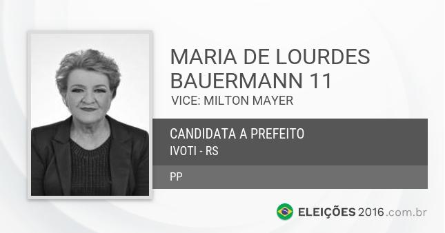 Maria de Lourdes é suspeita de ter montado um esquema  em troca de votos. (Foto: Reprodução)