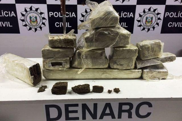 Droga seria entregue a traficante (Foto: Polícia Civil/Divulgação)