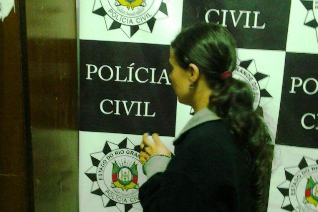 Criminosa foi presa em uma UPA (Foto: Polícia Civil/Divulgação)