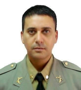 O sargento João Marcelo Borges Desidério morreu na manhã deste sábado. (Foto: BM/Divulgação)