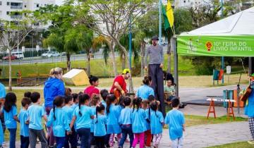 Feira do Livro Infantil nos Parques de Porto Alegre começa com diversão