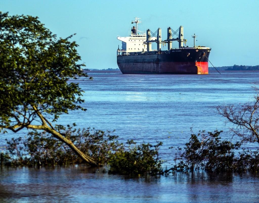 As chuvas que castigaram o Rio Grande do Sul nos últimos dias provocaram forte acúmulo de água nos afluentes do Guaíba (Foto: Jackson Ciceri/ O Sul)