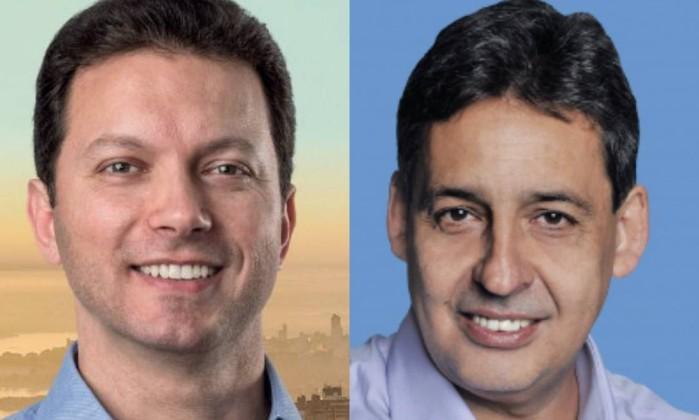 Nelson Marchezan Jr e Sebastião Melo (Fotos de divulgação)