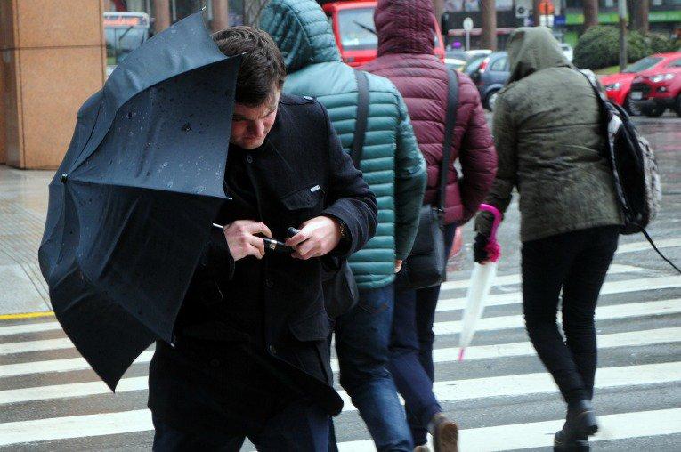 Períodos de chuva atingem a Capital ao longo do dia (Foto: Ceic/Divulgação)