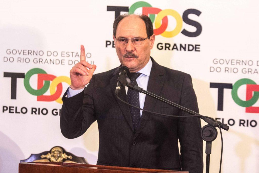 Governador José Ivo Sartori. Foto: Jackson Ciceri/O SUL