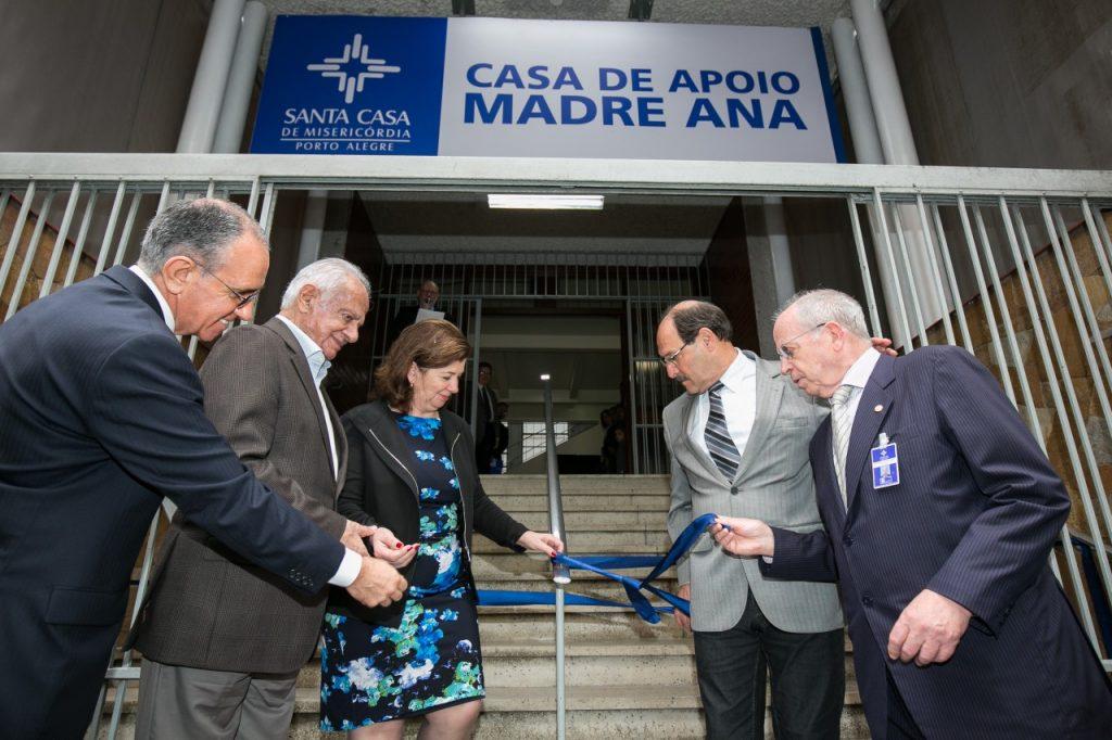 Criado pela Santa Casa de Misericórdia de Porto Alegre, o local já recebeu 249 pacientes e familiares de todo o Brasil e do interior do Estado, desde sua inauguração, em maio último. Crédito: Nathan Carvalho