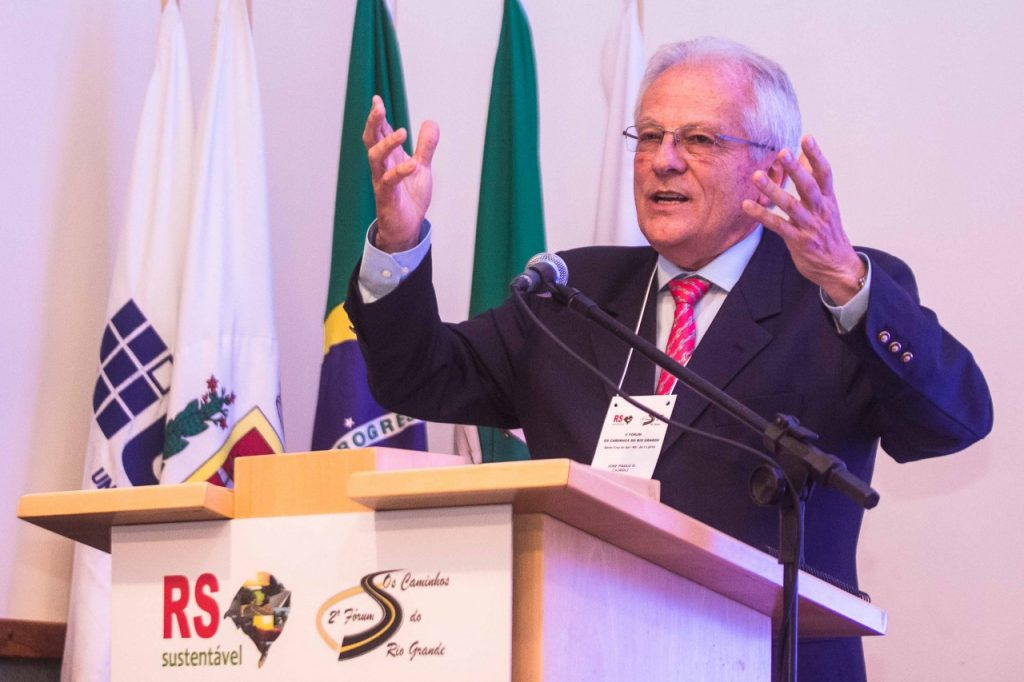 Vice governador Cairoli.  Fotos: Jackson Ciceri/O SUL