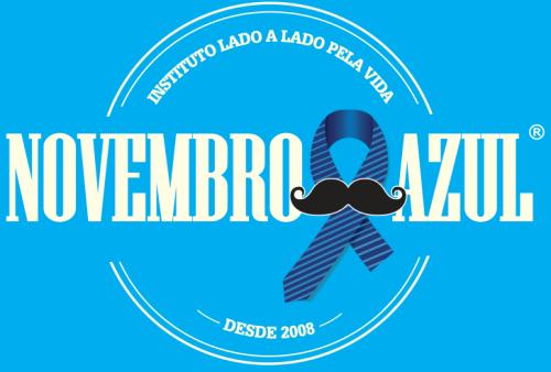 Símbolo da vaidade masculina, a gravata é usada como alerta para os cuidados preventivos do câncer de próstata. (Reprodução)