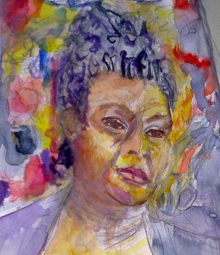 Autorretrato: a gaúcha Maria Lídia Magliani teve seu trabalho caracterizado por temas influenciados pelos movimentos negro e feminista. (Foto: Reprodução)