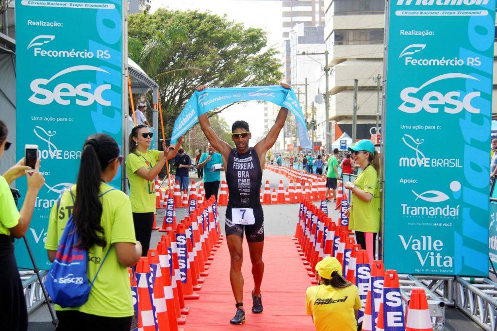 Luiz Francisco Ferreira é o grande vencedor da categoria Elite Spring. Foto: Jackson Ciceri / O Sul