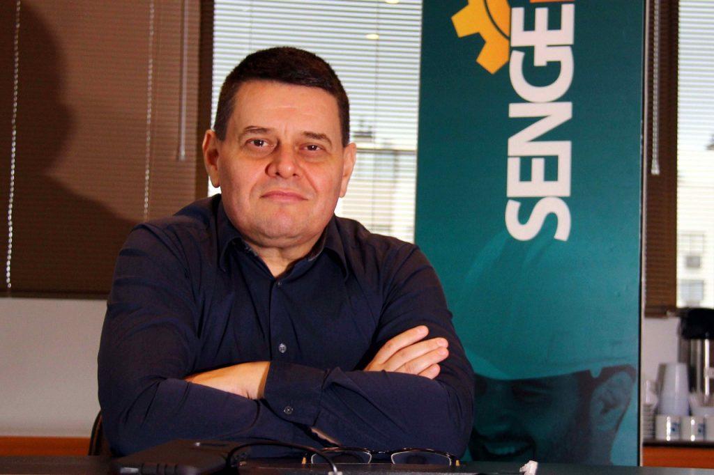 Alexandre Wollmann, presidente do SENGE-RS. Fotos: Jackson Ciceri/O SUL