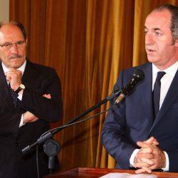 Governador Sartori e Luca  Zaia, presidente do Vêneto. Fotos: Jackson Ciceri/O SUL
