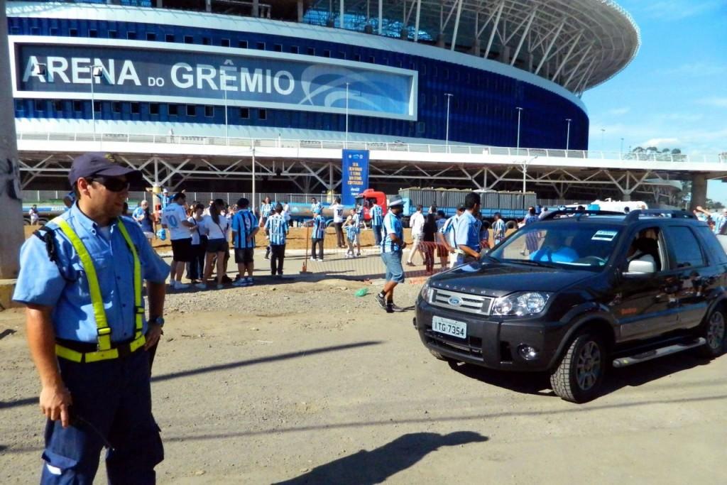 Previsão é de cerca de 50 mil torcedores para a partida na Arena. (Foto: Thalles Campos/Arquivo PMPA)