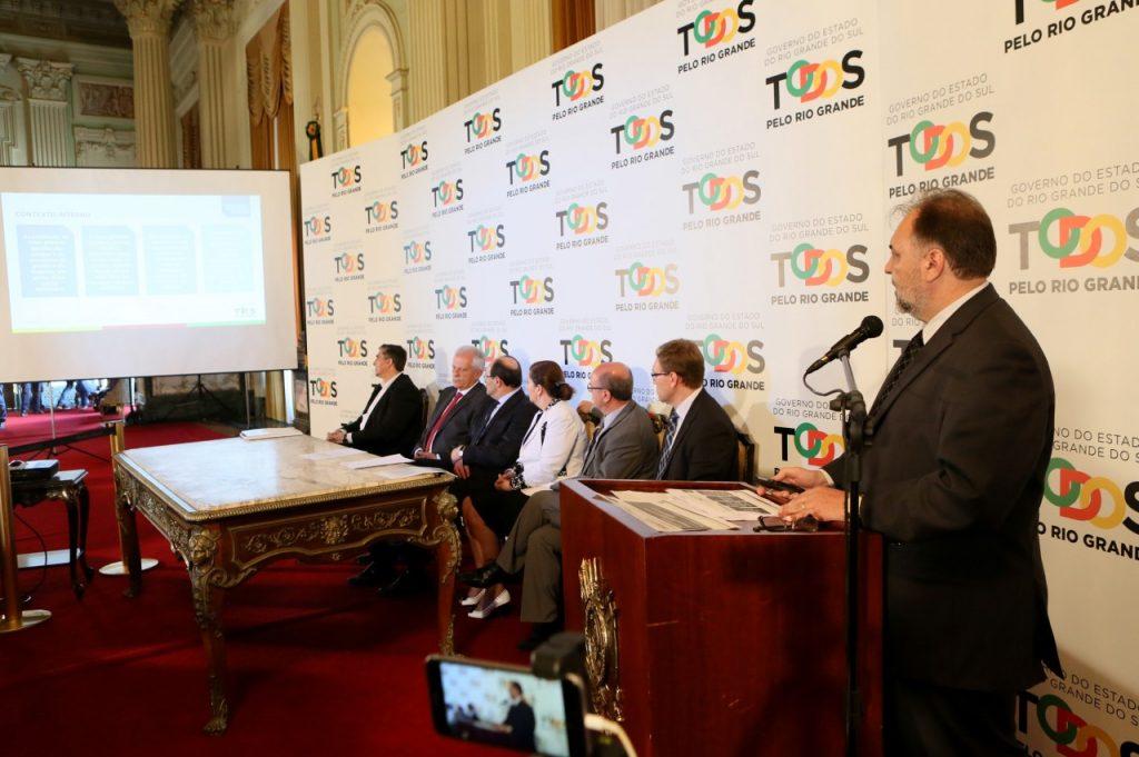 Governo quer extinguir nove fundações, entre elas a FEE,  FZB, TVE, Fepagro e Metroplan (foto: Luiz Chaves/Palácio Piratini)