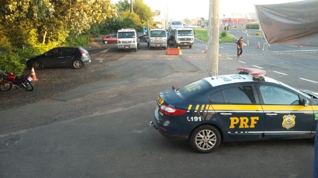 A Operação Viagem Segura vai até a meia noite desta terça-feira. (Foto: PRF/Divulgação)