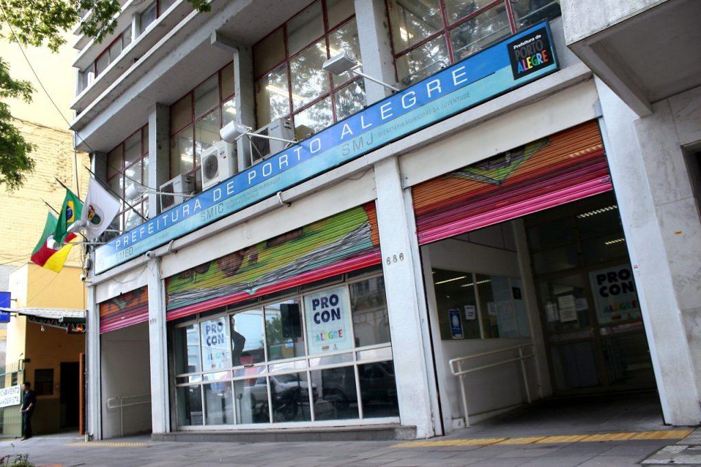 Procon Porto Alegre funciona na rua dos Andradas, 686, das 10h às 16h (foto: Anselmo Cunha/Arquivo PMPA)