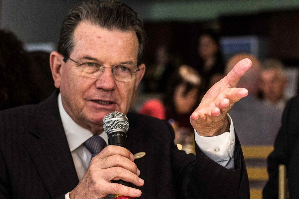 Luiz Carlos Bohn, presidente da entidade. Fotos: Jackson Ciceri/O SUL