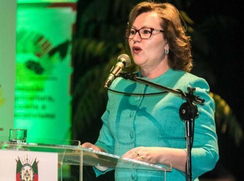 Na foto a presidente da Assembleia Legislativa do Estado, Silvana Covatti. Foto: Jackson Ciceri / O Sul