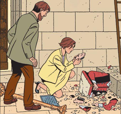 A nova edição tem roteiro de Yves Sentes e desenhos de André Juillard. (Foto: Reprodução)