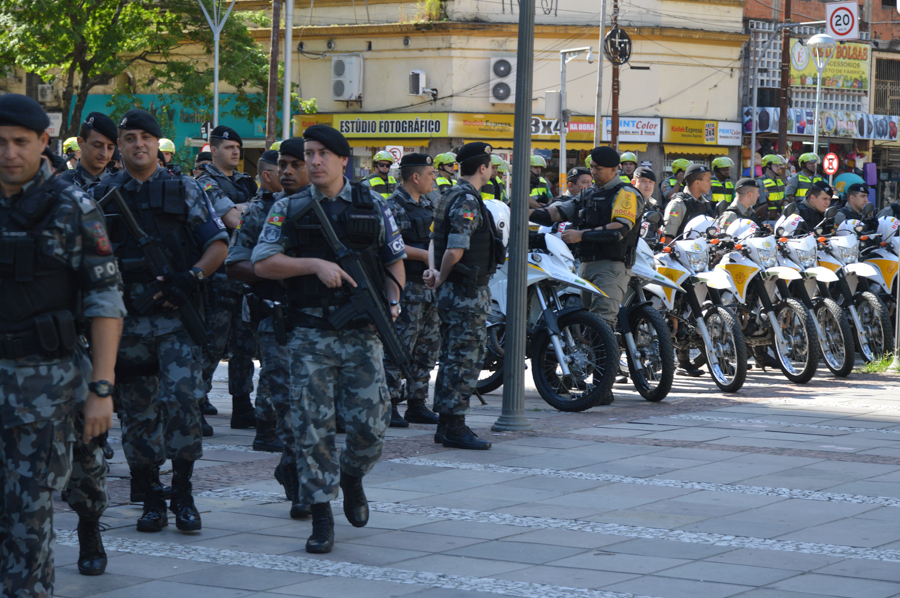 Haverá participação do Batalhão de Operações Especiais, do Policiamento Montado, dos Pelotões Especiais de Motociclistas. (Foto: Rafael Silva/BM)