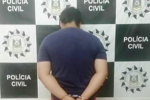 Prisão ocorreu em Portão (Foto: Polícia Civil/Divulgação)