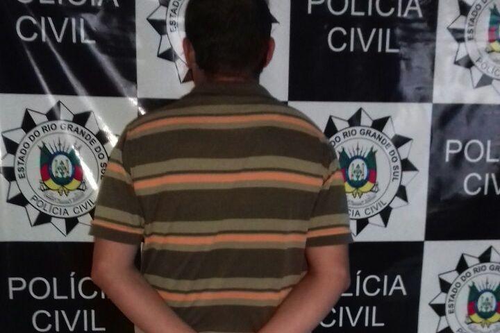 Criminoso tem 31 anos (Foto: Polícia Civil/Divulgação)