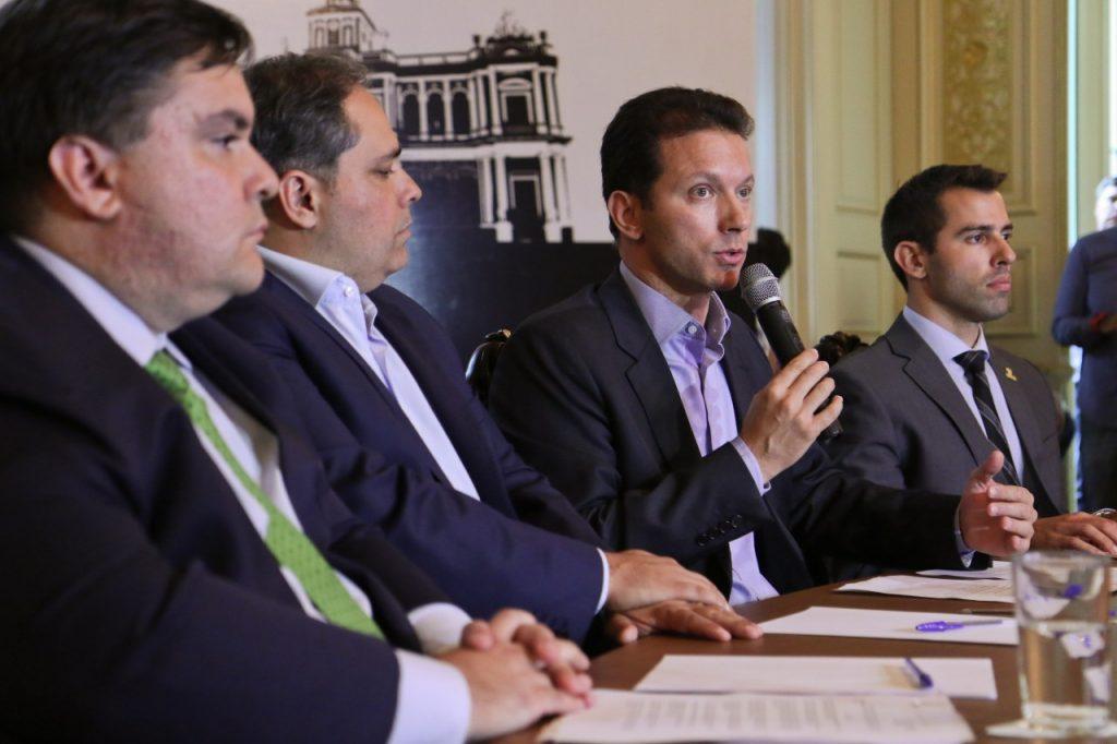 Prefeito de Porto Alegre quer levantamentos sobre questões como os contratos vigentes. (Foto: Joel Vargas / PMPA)
