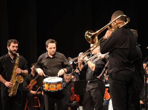 Orquestra Academica do Festival de Música Classicos do Jazz. Foto-Flavio Neves.